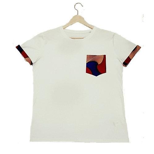 Tshirt Femme - Wax Pocket Color