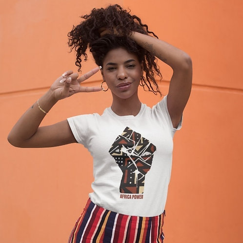 Tshirt Femme - AFRICA POWER BOGOLAN