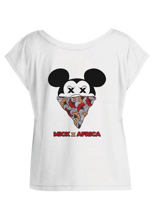 """Tshirt Femme Oversize - """"MICK x AFRICA FLEUR """""""