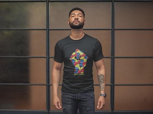 """Tshirt Homme - Black """"Africa Color"""""""