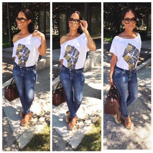 Tshirt Femme Oversize - AFRICA POWER