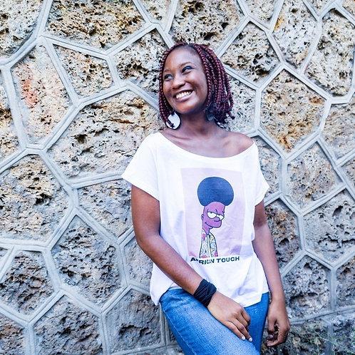 """T-shirt Femme Oversize """"African Touch"""""""