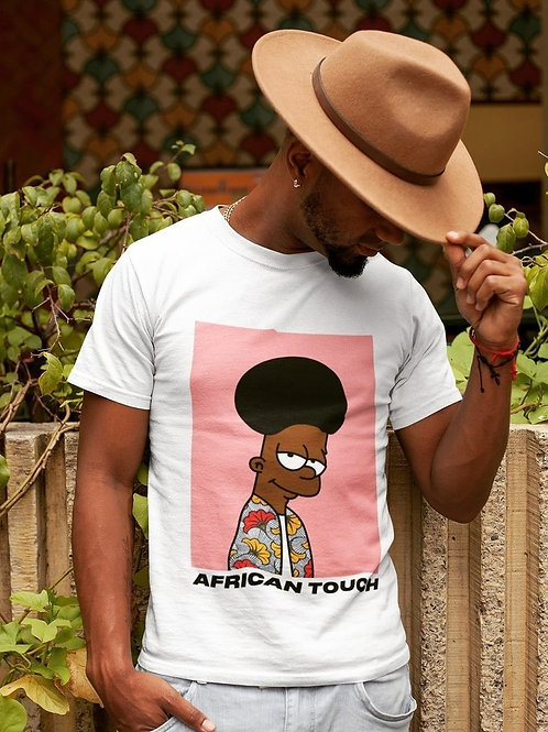 """T-shirt Homme """"African Touch"""""""