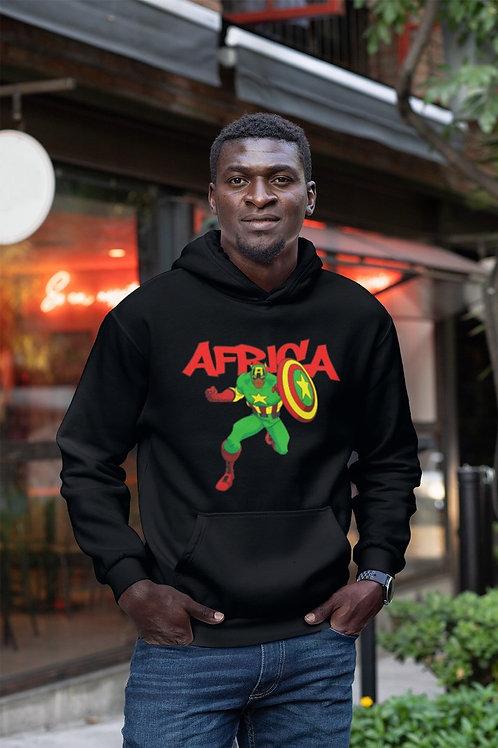 HOODIE CAPTAIN AFRICA