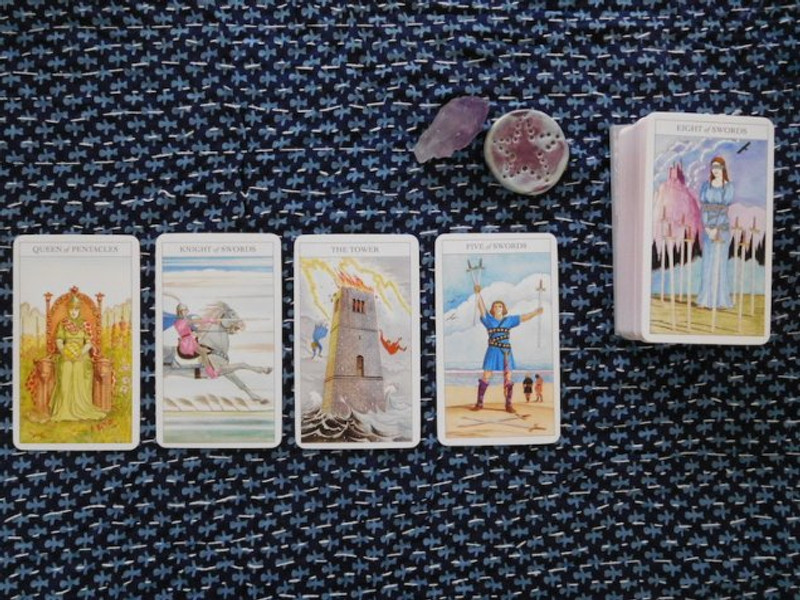 Sharman-Caselli tarot deck