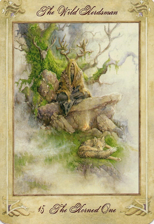 15 Wild Herdsman Llewellyn Tarot