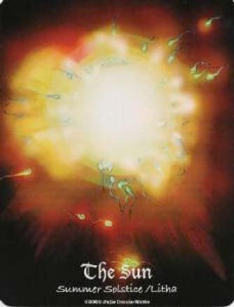 The Sun  MAAT Tarot
