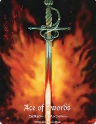 Ace of Swords MAAT Tarot