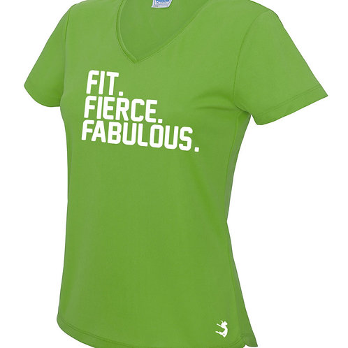 FIT. FIERCE. FABULOUS T-SHIRT