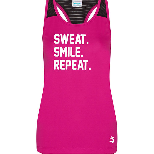 SWEAT. SMILE. REPEAT VEST