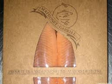 Filet de truite saumonée fumée