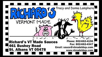 Richard's Vermont Made Sauces