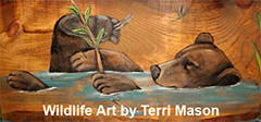 Wildlife Art by Terri Mason