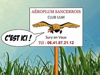 ulm sury-en-vaux aeroplum sancerrois