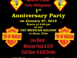Cebu, Philippines 1st Anniversary Party