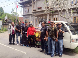 A THOUGHTFUL ACT BY BANDIDOS MC KUTA CHAPTER BALI, INDONESIA