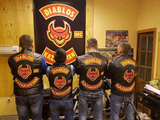 New opening of our first Support Club Diablos MC Astana