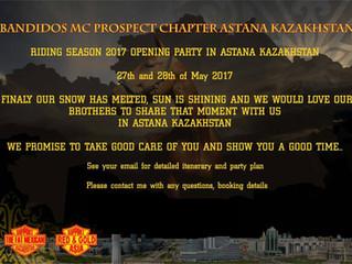Kazakhstan Riding Season 2017 Opening Party