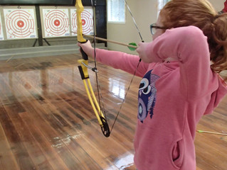Somers camp has new compound archery bows!