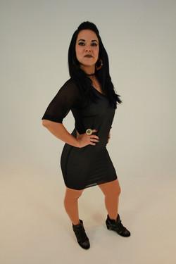 LF black dress 1