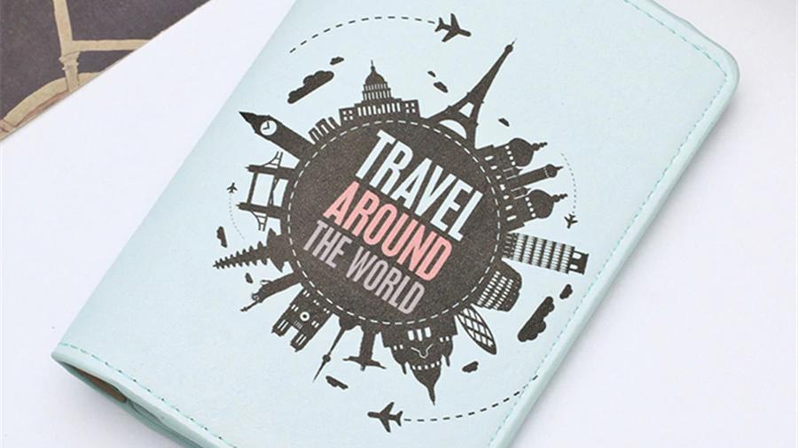 Infinite Traveler Passport Cover