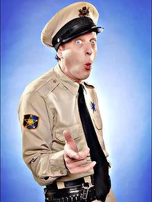 Barney Fife impersonator