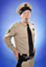 Barney Fife impersonator