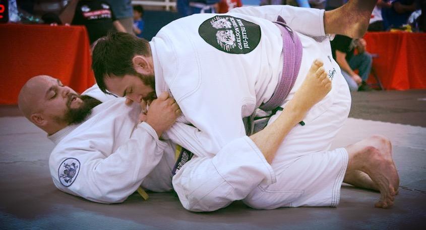 M Jiu-Jitsu roll