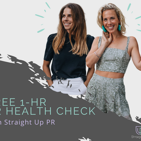 Straight Up PR Launches FREE 1hr Health Sessions