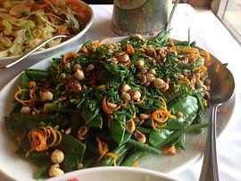 french bean and hazelnut salad.JPG