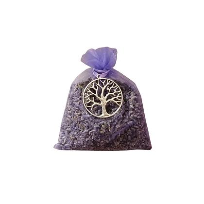 sacchetto di Lavanda con ciondolo albero della vita