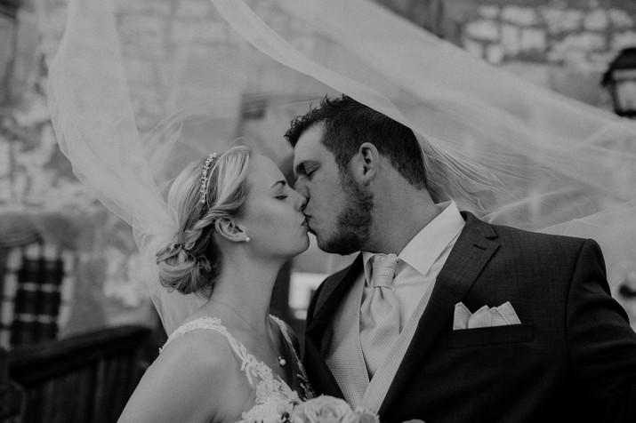 Braut | Bräutigam | Mann | Frau | Hochzeit | Kahl am Main | Schleier