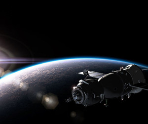 Trendige Raumschiffe