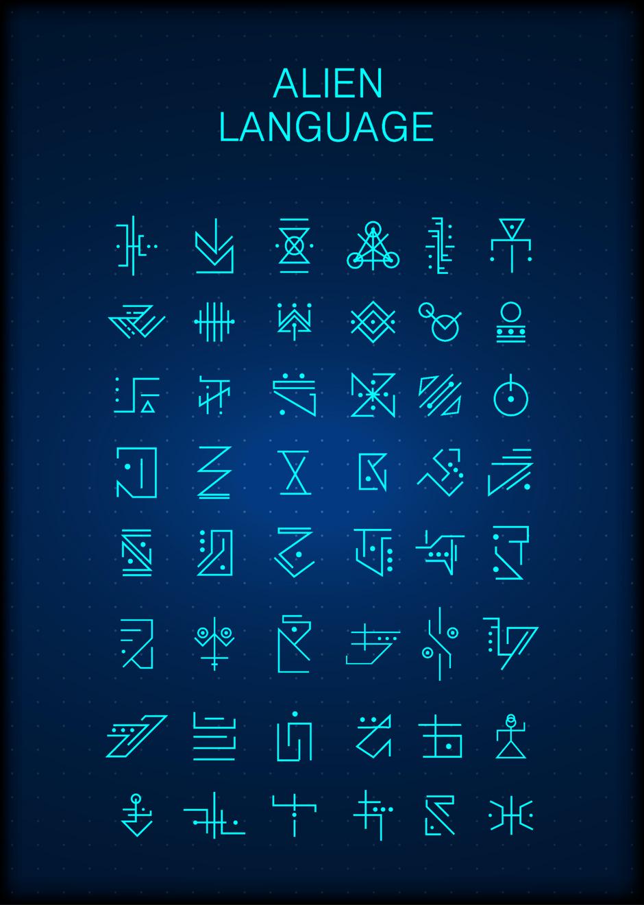 Alien Sprache