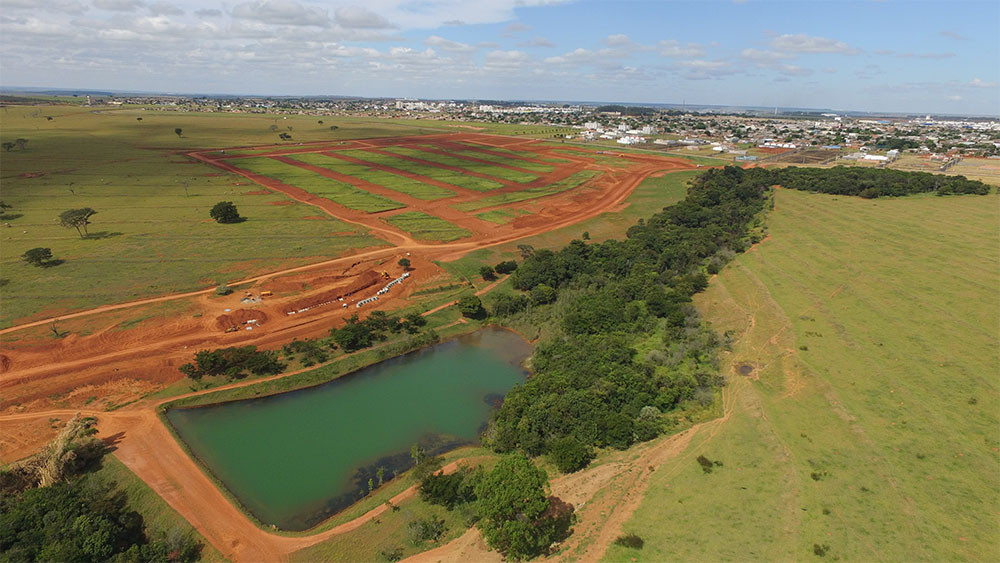 Terrenos infraestrutura Portal do Vale