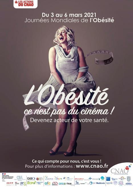 Le CNAO en campagne pour les Journées Mondiales de l'Obésité 2021