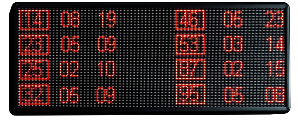 The Time Of My Life, 2021, LED signboard in acrylic casing, 40 x 100 x 5cm