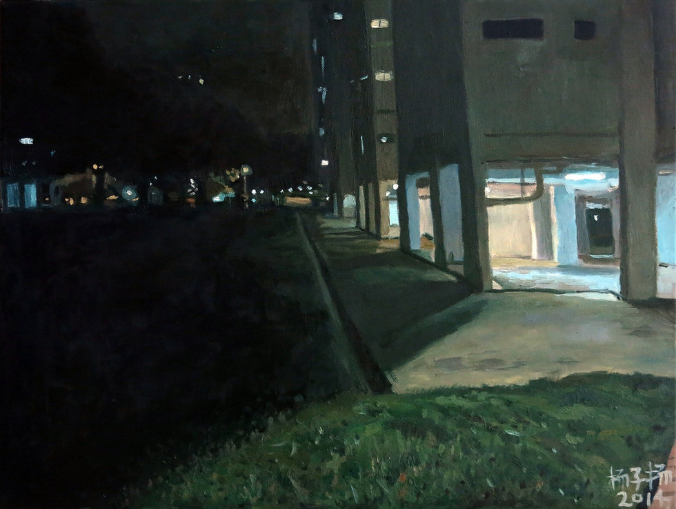 These Days, 2014, Oil on canvas, 61 x 46 cm  Private Collection, Singapore