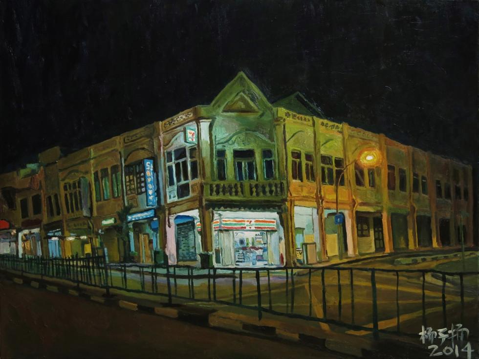 7 - Eleven, 2014, Oil on canvas, 102 x 76.5cm  Private Collection, Singapore