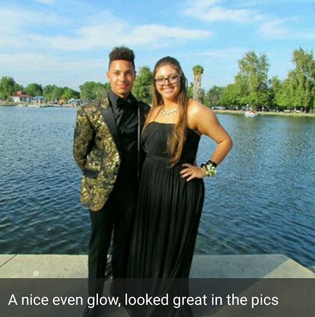 Prom photo from a happy client 🌞👀 #spraytanned #airbrushtanning #allnaturalproducts #mobiletans #i