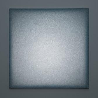 Massa Carrara Bianca Lightscape white Carrara marble, acrylic, light projection on canvas 100x100cm 2017