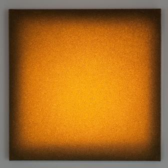 Siena Tufo Giallo  Lightscape tufo, acrylic, light projection on canvas 60x60cm 2015