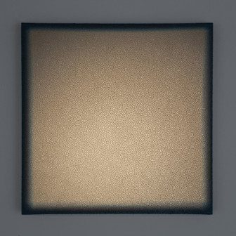 Montalcino Griggio Lightscape clay, acrylic, light projection on canvas 50x50cm 2015