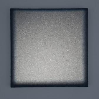 Boccheggiano Griggio Lightscape volcanic mineral, acrylic, light projection on canvas 40x40cm 2015