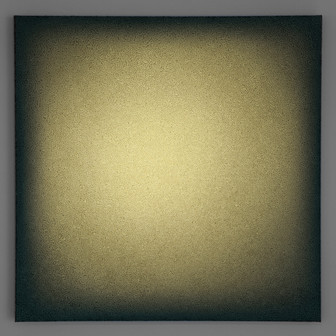 Camporbiano Verde Lightscape mineral, acrylic, light projection on canvas 80x80cm 2015