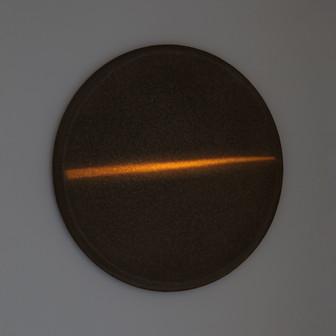 Poggibonsi Tondo Griggio Lightscape clay, acrylic, light projection on canvas on board ⌀40cm 2012