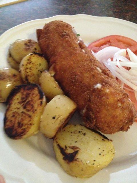 Stuffed Veal Schnitzel