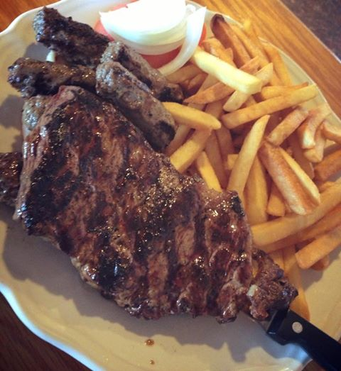 Steak with Fries