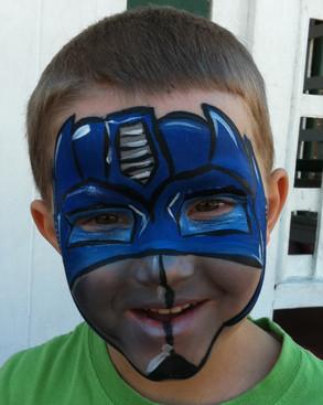 Transformer face paint