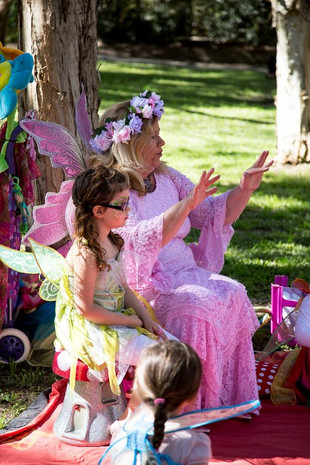 Learning about fairy magic